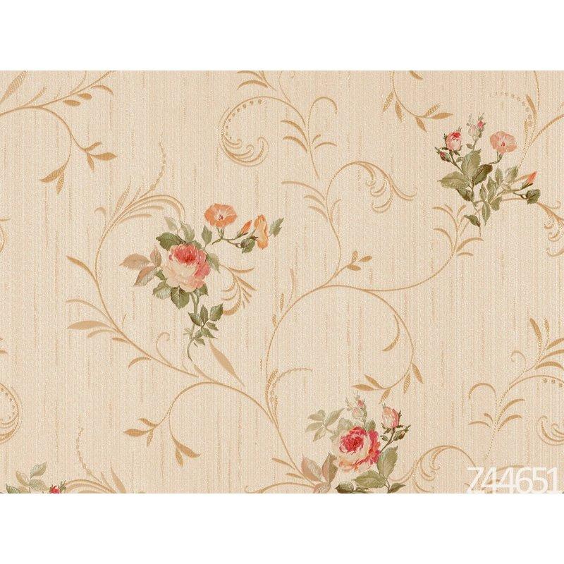 Zambaiti Parati Satin Flowers Z44651 Çiçekli italyan Duvar Kağıdı