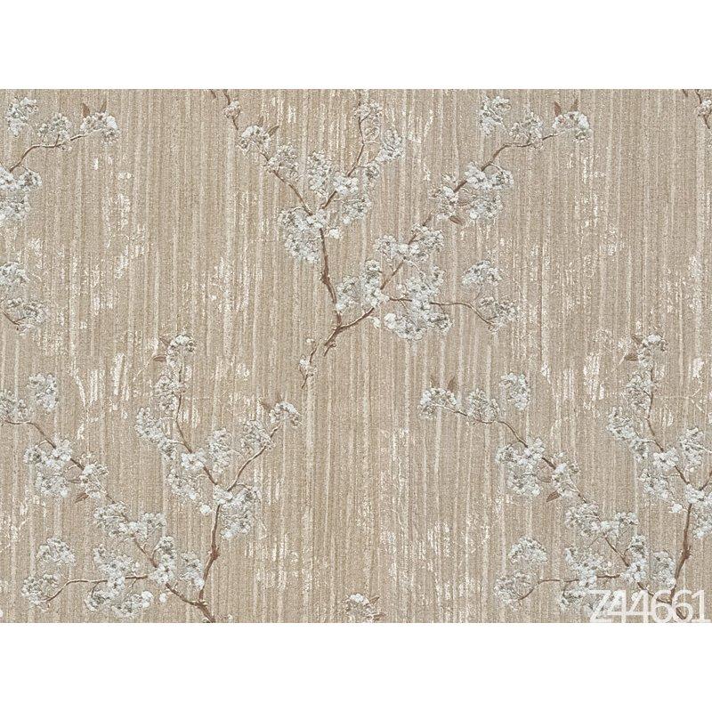 Zambaiti Parati Satin Flowers Z44661 Çiçekli İtalyan Duvar Kağıdı