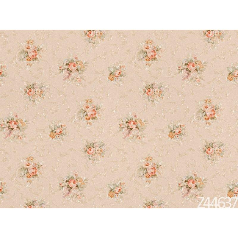 Zambaiti Parati Satin Flowers Z44637 Çiçekli italyan Duvar Kağıdı