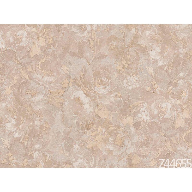 Zambaiti Parati Satin Flowers Z44655 çiçekli desenli italyan duvar kağıdı