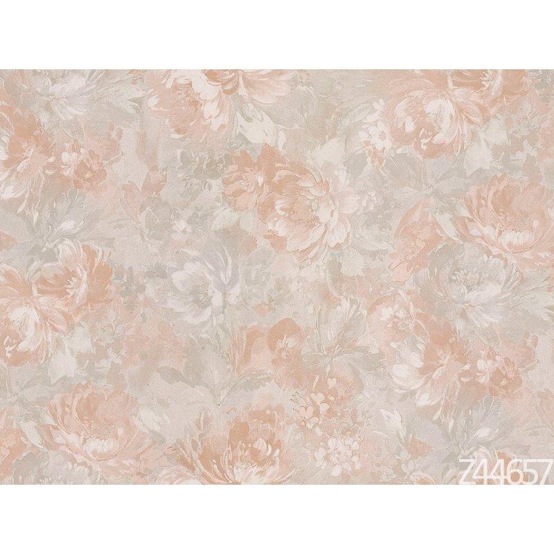 Zambaiti Parati Satin Flowers Z44657 Çiçekli italyan Duvar Kağıdı