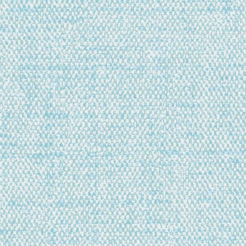Buz Mavisi Kumaş Dokulu Çocuk Odası Duvar Kağıdı