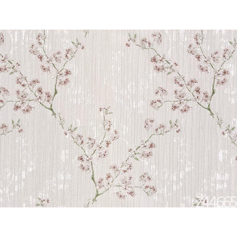 Zambaiti Parati Satin Flowers Z44665 Çiçekli İtalyan Duvar Kağıdı