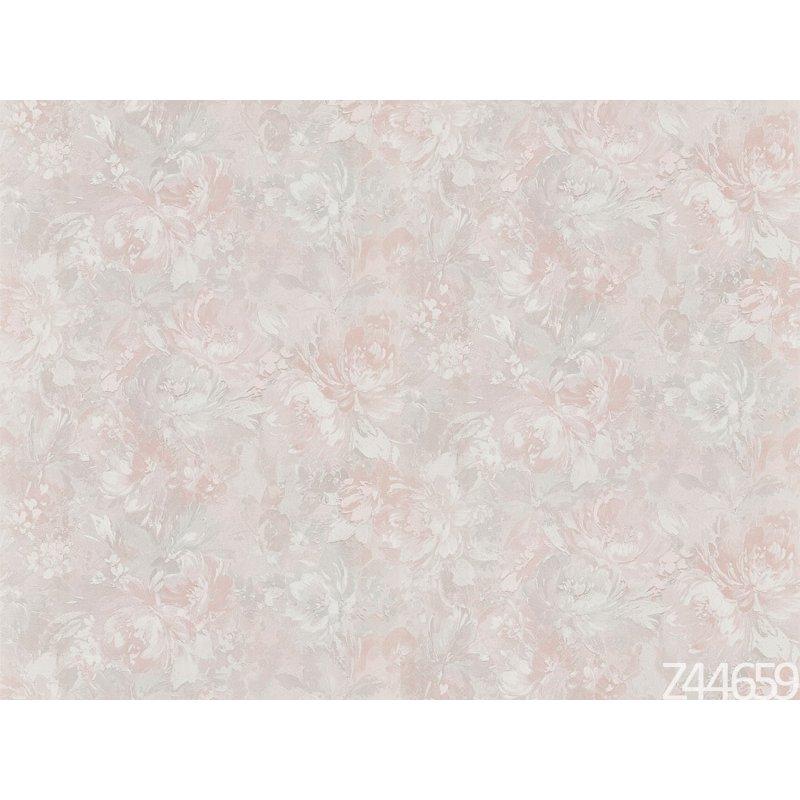 Zambaiti Parati Satin Flowers Z44660 kendinden desenli italyan duvar kağıdı